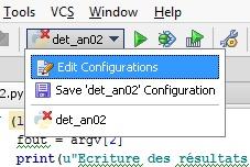 Edit config