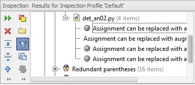 inspect code