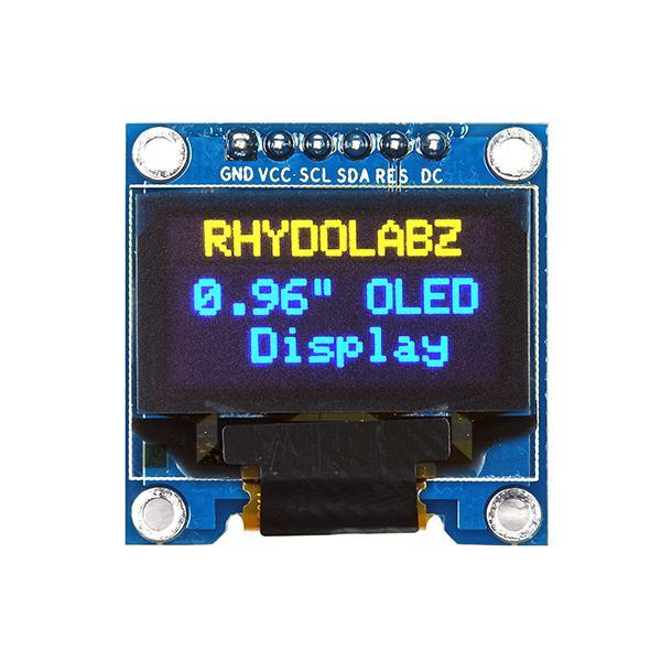 SSD1306 SPI/I2C